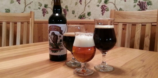 Syracuse, NY: Red Hawk Brewing offers Old World tastes. Offering traditional Farmhouse Ales and Abbey Ales.