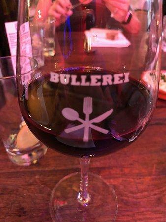 Bullerei: Wein