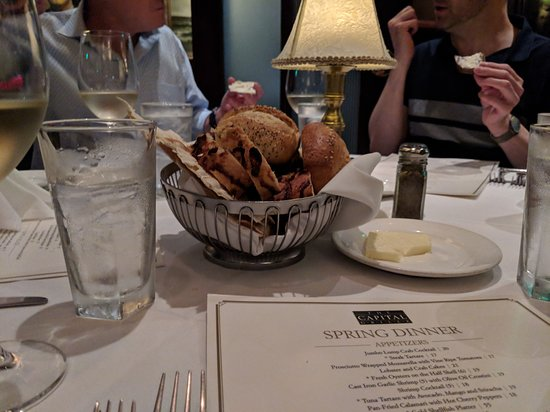 The Capital Grille: The table