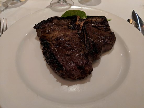 The Capital Grille: Porterhouse steak