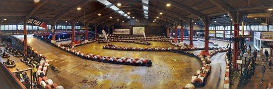 Cambuslang, UK: The track