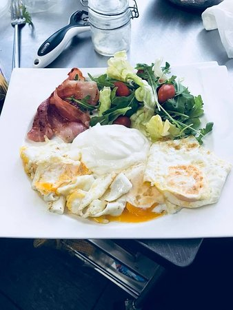 Canton of Geneva, Switzerland: Bocca American Breakfast 1