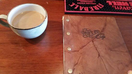 Great coffee at the Drift Inn