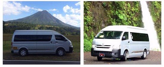 Escazu, Costa Rica: Vans