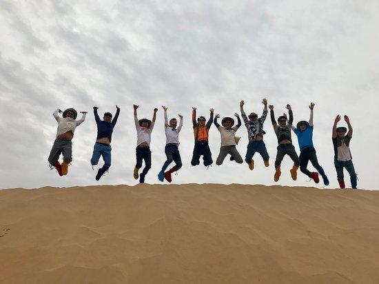 库布齐沙漠照片