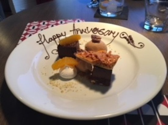 Mawgan Porth, UK: The perfect dessert