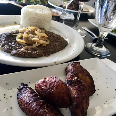 A you should go place, try the mofongo relleno de churrasco and enjoy the view!!