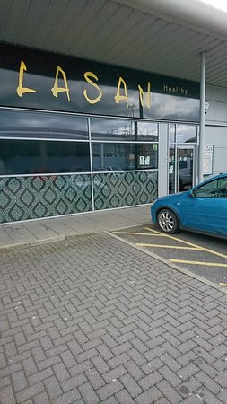 Lasan: The Exterior   Plenty Of Free Parking