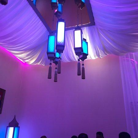 Iftar in ballroom