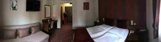 Velky Meder, Słowacja: pokoj v penzionu Corvin