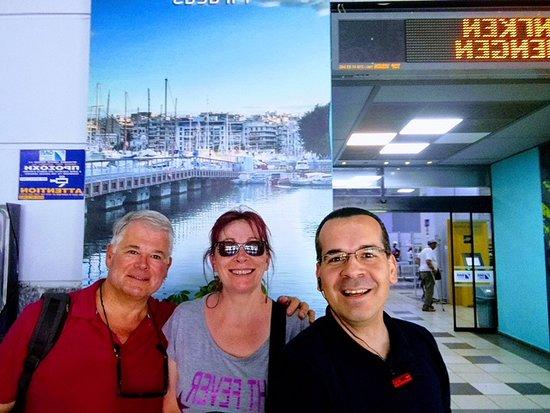 Περιήγηση στην Αθήνα με ταξί: Retour au port du Pirée