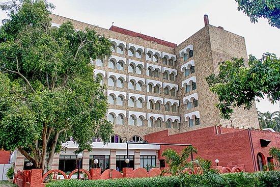 Taj Ganges, Varanasi: Rear of hotel