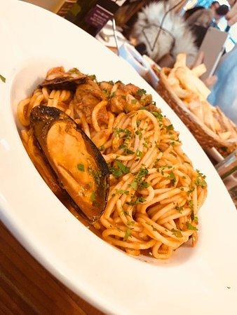 Ninina: Frutti di mare pasta