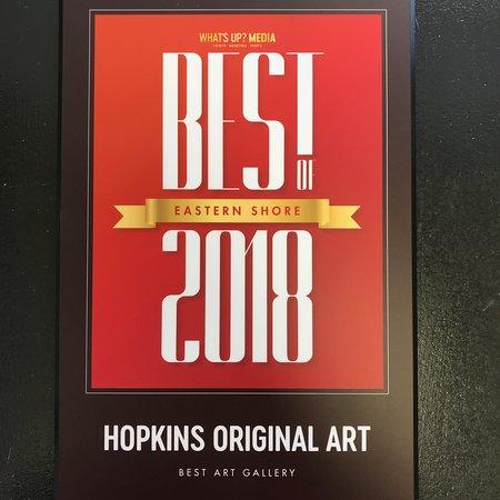 Hopkins Original Art: WON Best Art Gallery 2018 by Whats Up Media