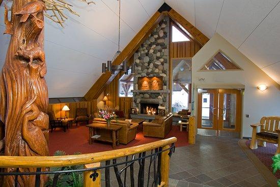 Manning Park Resort: Lobby
