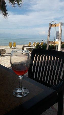Beach Star Hotel: view from the veranda next to pool