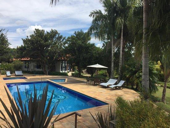 Andrelandia, MG: Area da piscina