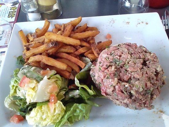 Vienne, Γαλλία: Steak tartare