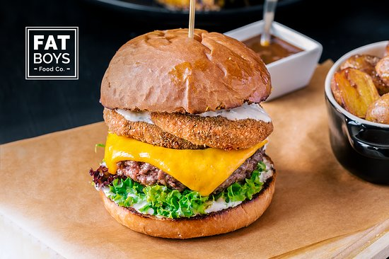 Burger - Picture of Fat Boys Food Co , Belgrade - TripAdvisor