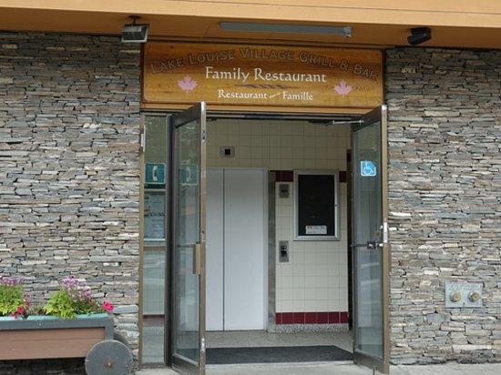Lake Louise Village Grill & Bar: Outside entrance