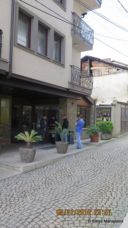 View of the place from the street