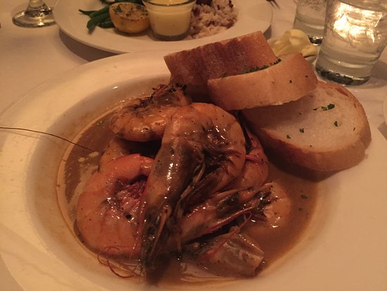 Mr. B's Bistro: BBQ shrimp