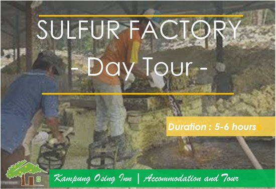 Banyuwangi, Indonesia: Day Tour To Sulfur Processing Factory