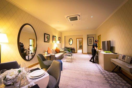 Crowne Plaza London Kensington: Suite