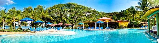 Choc, St. Lucia: Pool