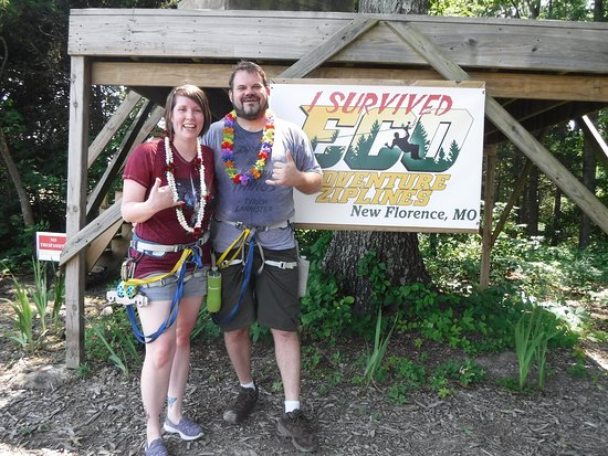 Eco Adventure Ziplines: Zip lining fun!