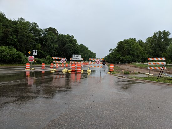 Oasis Cafe: Road is blocked but you can still get there. Road should be finished by July 4th 2019.