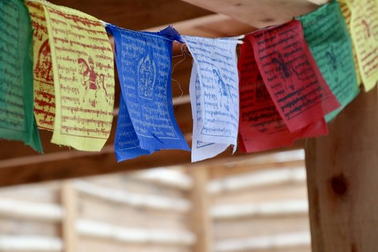 Tzununa, Guatemala: Tibetan praying flags