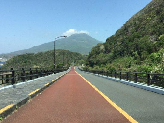 Hachijo-jima, Japan: 大坂トンネルから