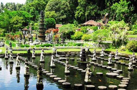 Østlige Bali Goa Lawah-templet Tirta...