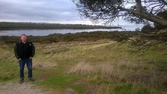 View over looking Rhyll inlet