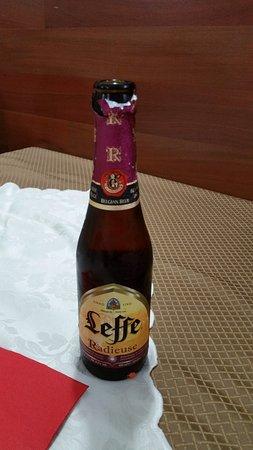 Comiziano, Itália: birra rossa