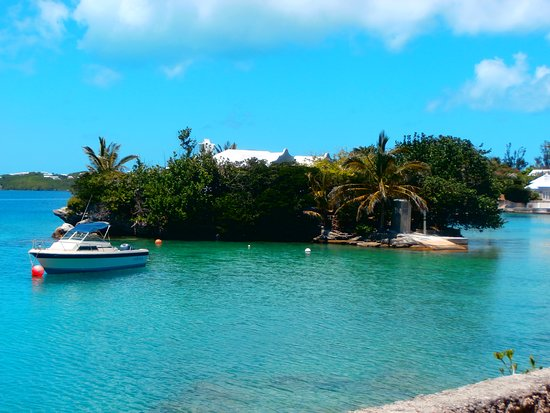 Hamilton Parish, Islas Bermudas: Island in Harrington Sound Bermuda