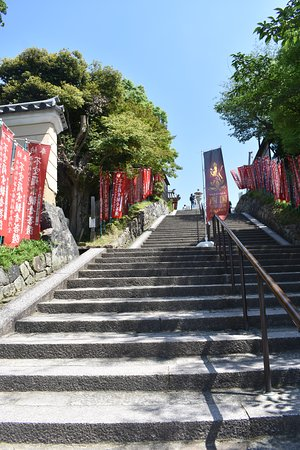 Kofuku-ji Temple: Stairs leading up to Kofuku-ji