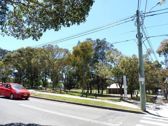Randwick, Australia: 坂を上ってたどり着く公園