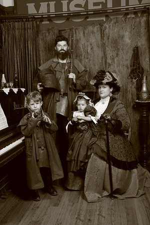 """Mt Morgan Store: they came in as the Collins family and left as the """"Kelly's"""".. fun fun."""