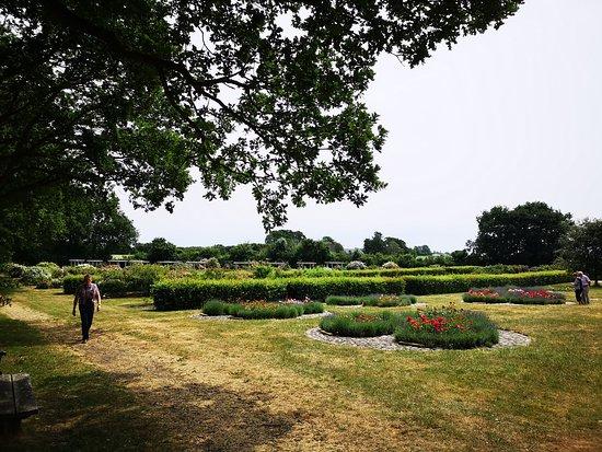 Gerlevparken: vue ud over