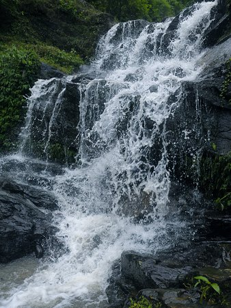 Barbotey Rock Garden: The Waterfall At The Rock Garden