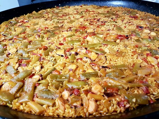Simat de la Valldigna, Spain: Arroz con frutos del mar