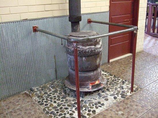 Greenbushes, Australia: The best hot fire ever.