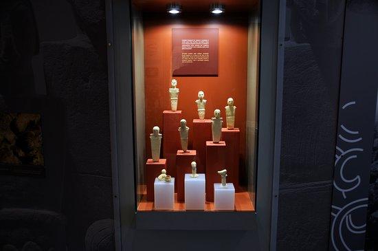 Ggantija Megalithic Temples: Från museet.