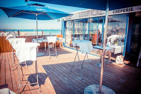 L'Equinoxe: Cocktail, Terrasse vue panoramique