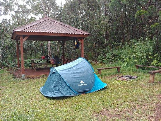 Yate, New Caledonia: Emplacement de bivouac