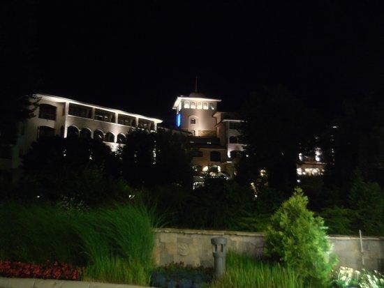 Helena Park Hotel : Widok z ogrodu