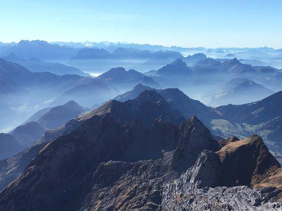 Santis der Berg: Blick vom Säntis