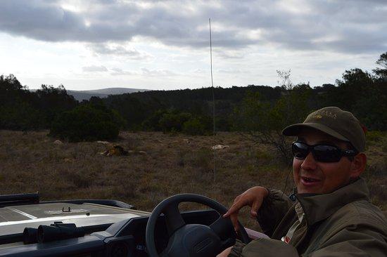Driekoppen, Sudáfrica: ranger